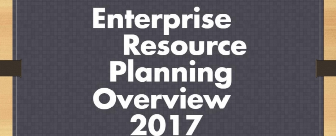 COVER PAGE ERP 2017